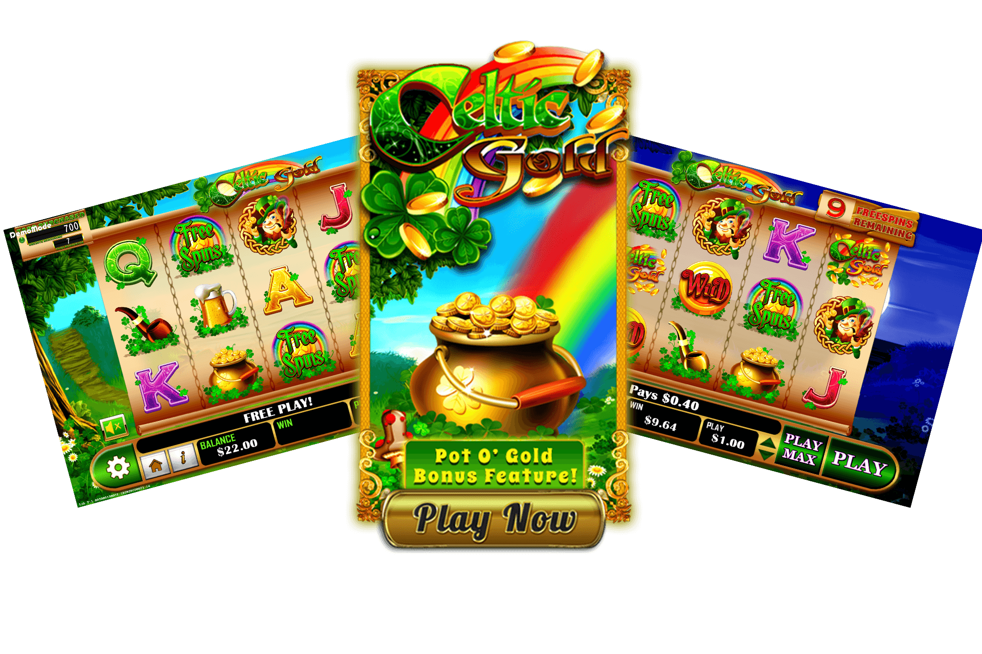 Celtic Gold Pull Tab Game